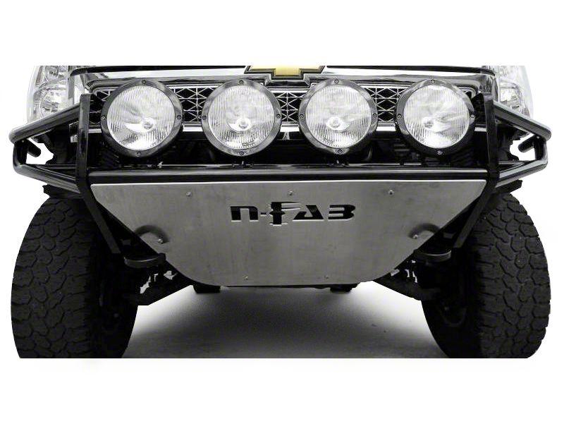 N-Fab R.S.P. Pre-Runner Front Bumper - Gloss Black (14-15 Silverado 1500)