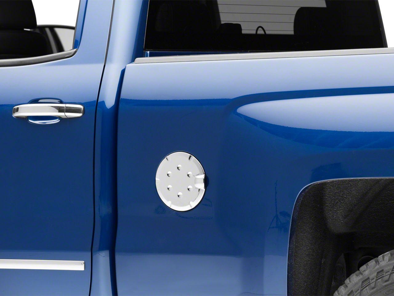 Putco Fuel Tank Door Cover - Chrome (14-18 Silverado 1500)