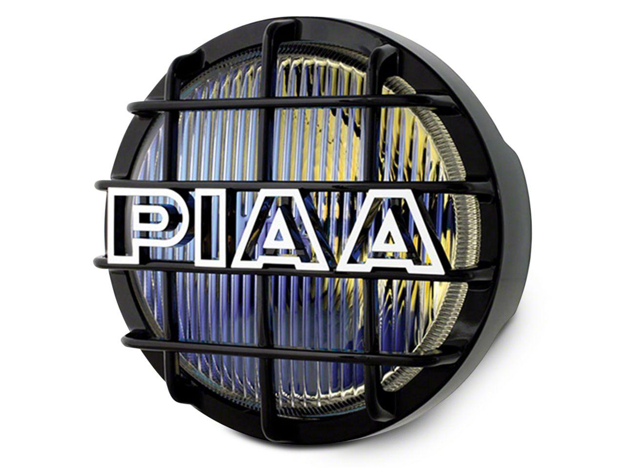 PIAA 520 Series 6 in. Round Ion Yellow Halogen Light - Fog Beam