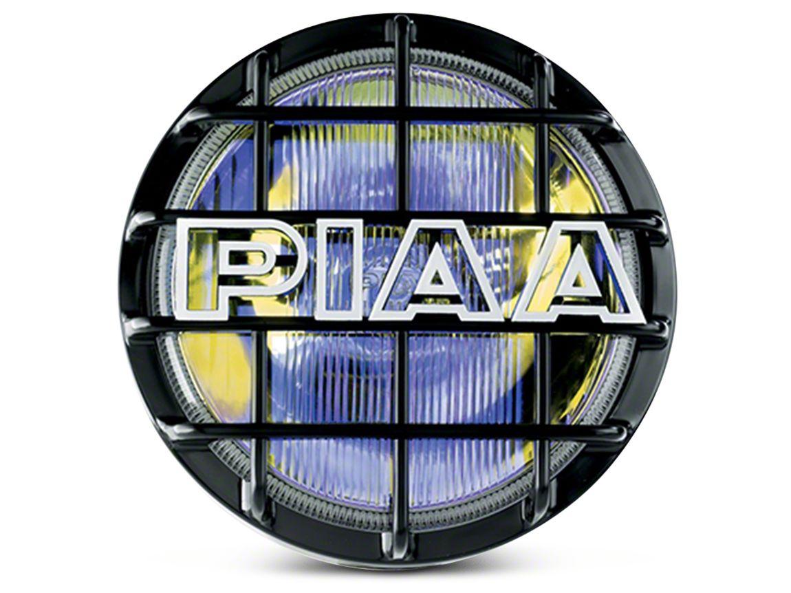 PIAA 520 Series 6 in. Round Ion Yellow Halogen Light - Driving Beam