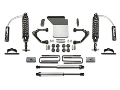 Fabtech 4 in. Uniball Upper Control Arm System w/ Dirt Logic Reservoir Coilovers & Shocks (07-13 2WD/4WD Silverado 1500 Extended Cab, Crew Cab)