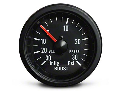 Prosport 30 PSI Boost/Vac Gauge - Mechanical (99-18 Silverado 1500)
