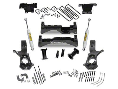 SuperLift 8 in. Suspension Lift Kit w/ Superide Shocks (07-13 4WD Silverado 1500)