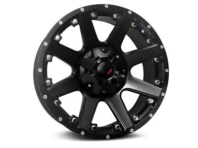 Havok Off-Road H102 Matte Black 6-Lug Wheel - 20x9 (99-18 Silverado 1500)