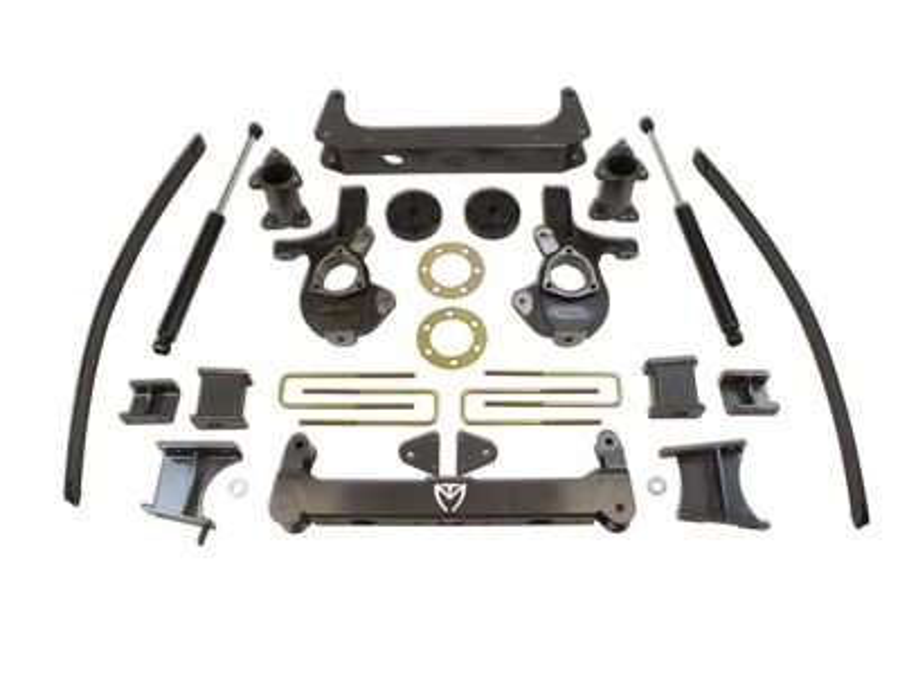Max Trac Max Pro 7 in. Lift Kit w/ Shocks (14-18 4WD Silverado 1500)