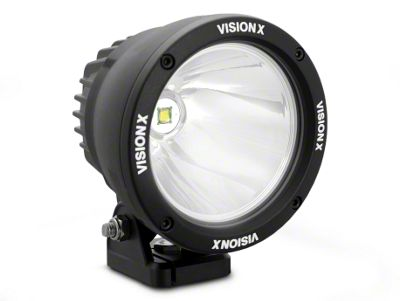 Vision X 4.5 in. LED Cannon - 1,000 ft. Range - Spot Beam - Pair
