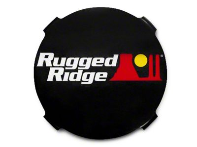 Rugged Ridge 7 in. HID Off-Road Light Covers - Black (07-18 Silverado 1500)