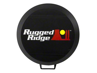 Rugged Ridge 5 in. HID Off-Road Light Cover - Black (07-18 Silverado 1500)