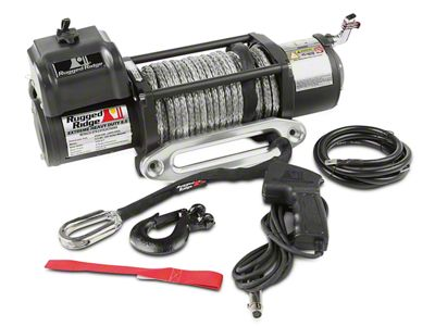 Rugged Ridge Spartacus Performance 8,500 lb. Winch w/ Synthetic Rope