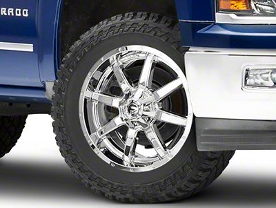 Fuel Wheels Maverick Chrome 6-Lug Wheel - 22x9.5 (99-18 Silverado 1500)