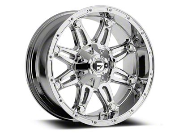 Fuel Wheels Hostage Chrome 6-Lug Wheel - 22x9.5 (99-18 Silverado 1500)