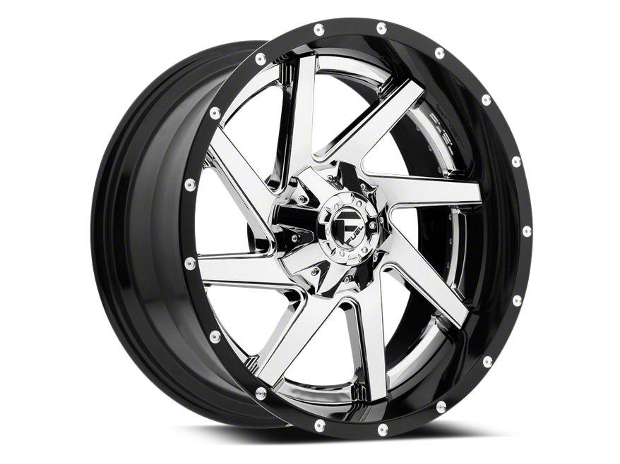 Fuel Wheels Renegade Chrome w/ Gloss Black Lip 6-Lug Wheel - 22x10 (99-18 Silverado 1500)