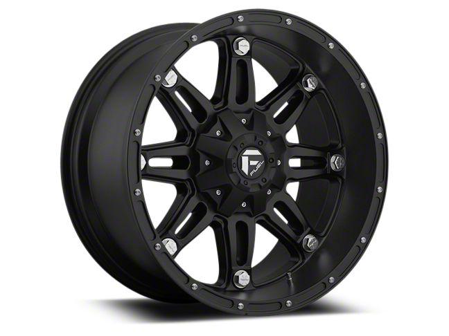 Fuel Wheels Hostage Matte Black 6-Lug Wheel - 22x9.5 (99-18 Silverado 1500)