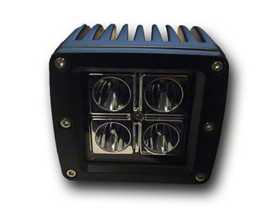 DV8 Off-Road 4 in. Chrome Series LED Cube Light - Spot Beam