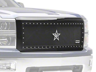 RBP NDX Series Upper Replacement Grille - Black (14-18 Silverado 1500)