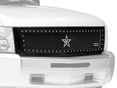 RBP NDX Series Upper Replacement Grille - Black (07-13 Silverado 1500)
