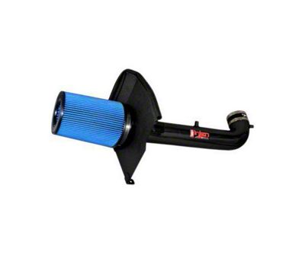 Injen Power-Flow Cold Air Intake - Wrinkle Black (14-18 5.3L Silverado 1500)