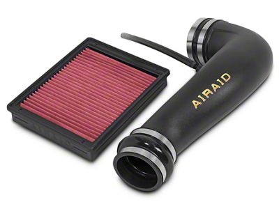 Airaid Jr. Intake Tube Kit w/ SynthaFlow Oiled Filter (07-13 5.3L Silverado 1500 w/ Electric Cooling Fan)