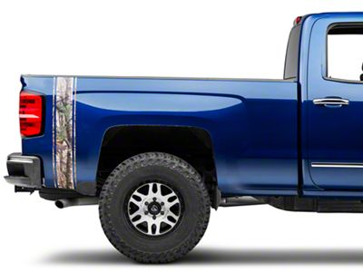 Real Tree Camo Rear Vertical Stripe (07-18 Silverado 1500)