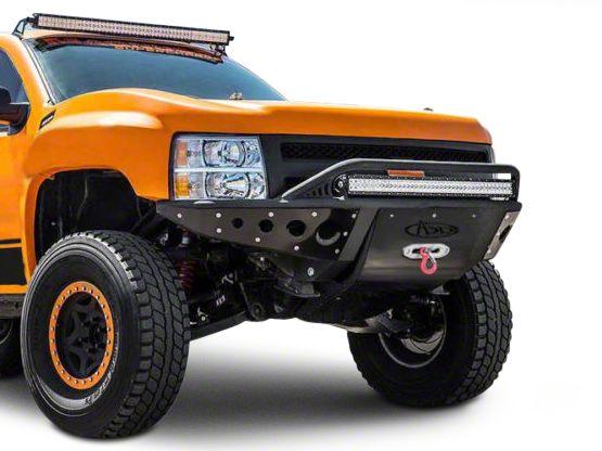 Addictive Desert Designs Stealth Front Bumper w/ Winch Mount (07-13 Silverado 1500)