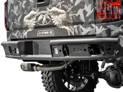 Addictive Desert Designs Dimple R Rear Bumper (14-18 Silverado 1500)
