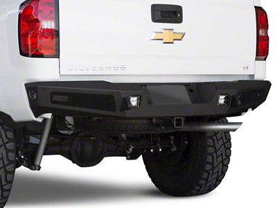 Addictive Desert Designs HoneyBadger Rear Bumper (14-18 Silverado 1500)