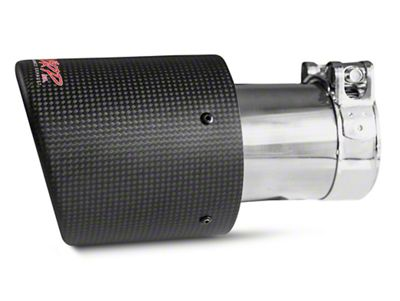 MBRP 4 in. Exhaust Tip - Carbon Fiber - 2.5 in. Connection (99-18 Silverado 1500)