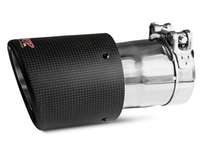 MBRP 4.5 in. Exhaust Tip - Carbon Fiber - 3 in. Connection (99-18 Silverado 1500)