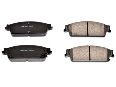 Power Stop Z16 Evolution Clean Ride Ceramic Brake Pads - Rear Pair (07-13 Silverado 1500 w/ Rear Disc Brakes)