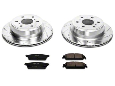 Power Stop Z23 Evolution Sport Brake Rotor & Pad Kit - Rear (07-13 Silverado 1500 w/ Rear Disc Brakes)