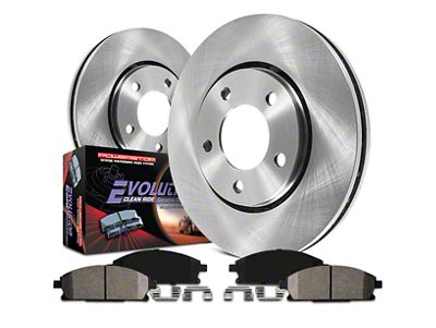 Power Stop OE Replacement Brake Rotor & Pad Kit - Front & Rear (07-13 Silverado 1500 w/ Rear Disc Brakes)