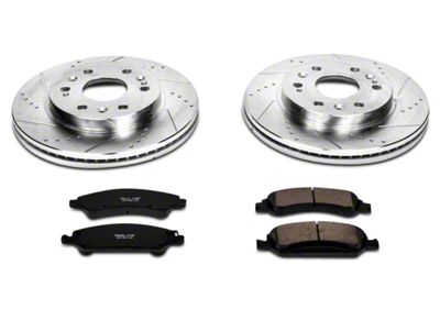 Power Stop Z23 Evolution Sport Ceramic Brake Pads - Front Pair (07-18 Silverado 1500)