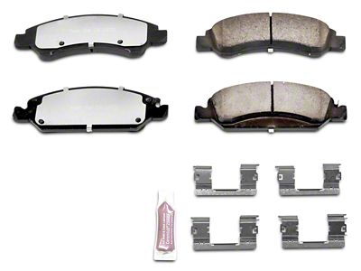 Power Stop Z36 Extreme Truck & Tow Carbon-Ceramic Brake Pads - Front Pair (07-18 Silverado 1500)