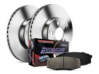 Power Stop OE Replacement Brake Rotor & Pad Kit - Rear (14-18 Silverado 1500)
