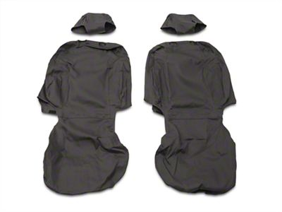 Covercraft Seat Saver Front Seat Covers - Charcoal (14-18 Silverado 1500 w/ Bucket Seats)