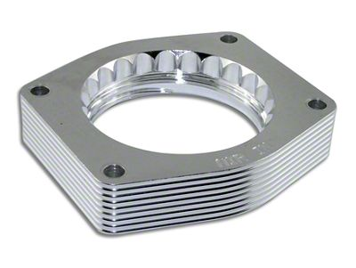 AFE Silver Bullet Throttle Body Spacer (07-13 V8 Silverado 1500)