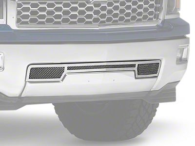 T-REX Upper Class Series Lower Bumper Mesh Grille Insert - Polished (14-15 Silverado 1500)
