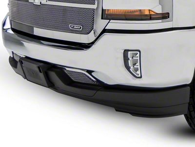 T-REX Upper Class Series Lower Bumper Mesh Grille Inserts - Polished (16-18 Silverado 1500)