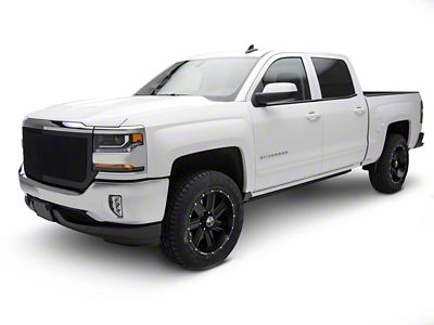 T-REX Upper Class Series Full Opening Design Upper Replacement Mesh Grille - Black (16-18 Silverado 1500)