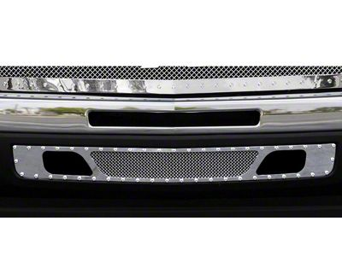 T-REX X-Metal Series Lower Air Dam Bumper Grille Insert - Polished (07-13 Silverado 1500)