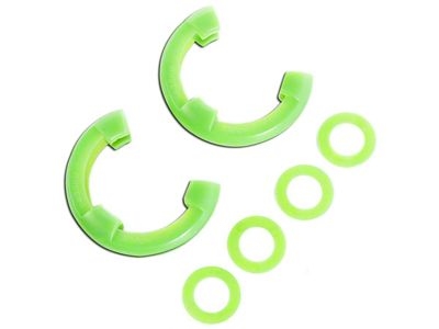 Rugged Ridge 3/4 in. Green D-Shackle Isolators - Pair