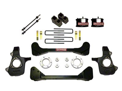 SkyJacker 4 in. Standard Suspension Lift Kit w/ Shocks (07-13 4WD Silverado 1500)