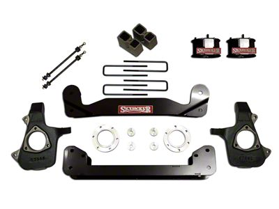 SkyJacker 4 in. Standard Suspension Lift Kit w/ Shocks (14-18 4WD Silverado 1500)