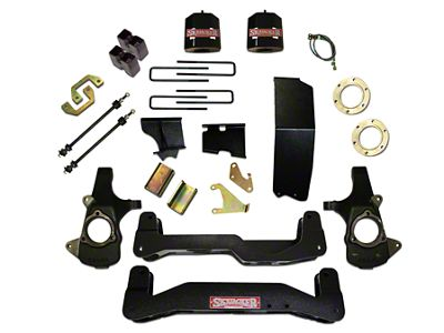 SkyJacker 6-7 in. Standard Suspension Lift Kit w/ Shocks (14-18 4WD Silverado 1500)