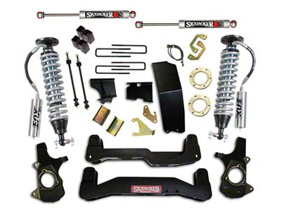 SkyJacker 6-7 in. LeDuc Series Suspension Lift Kit w/ Fox Coilover Shocks (14-18 4WD Silverado 1500)