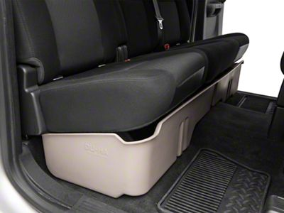 Underseat Storage - Light Gray (07-13 Silverado 1500 Extended Cab, Crew Cab)