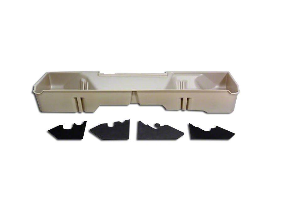 Underseat Storage - Tan (07-13 Silverado 1500 Extended Cab, Crew Cab)