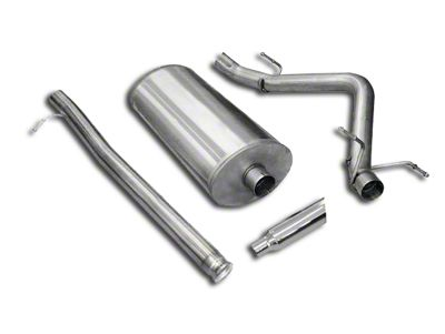 dB Performance by Corsa 3 in. Sport Single Exhaust System w/ Polished Tip - Side Exit (07-13 6.2L Silverado 1500)