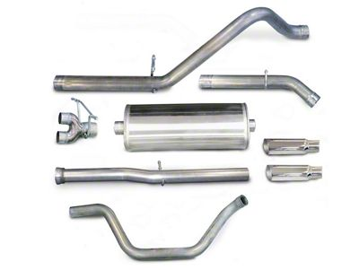 dB Performance by Corsa 3 in. Sport Dual Exhaust System w/ Polished Tips - Rear Exit (07-13 6.2L Silverado 1500)