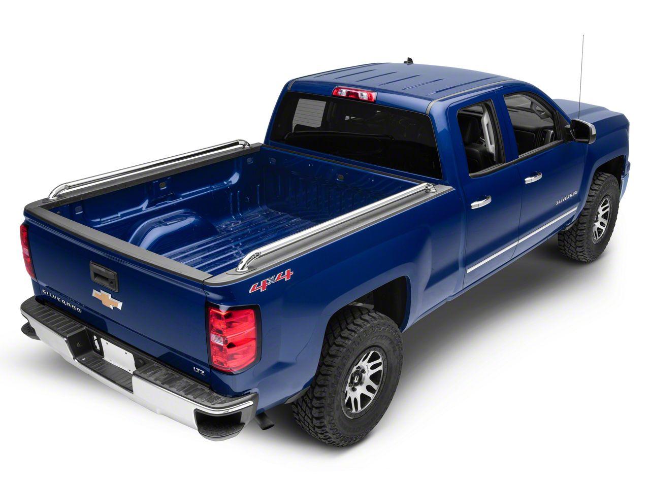 Putco Traditional Locker Side Bed Rails - GM Licensed (14-18 Silverado 1500)